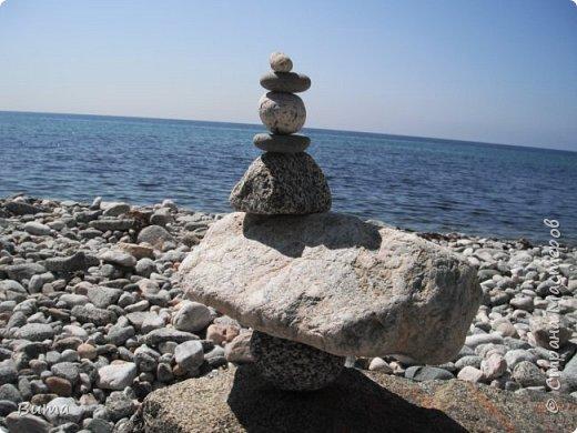 Пирамидка, нужно сбалансировать камни. фото 4