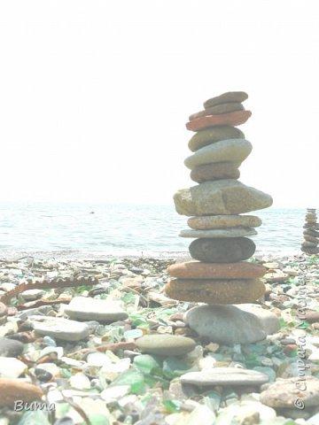 Пирамидка, нужно сбалансировать камни. фото 6
