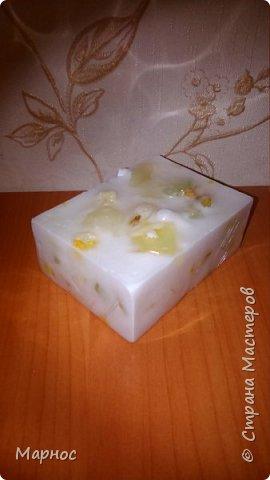 мыло из основы на козьем молоке с витамином Е  фото 1