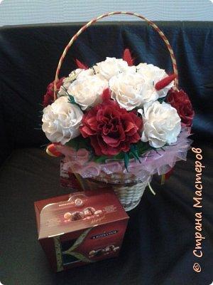 корзины вкусных цветов фото 1