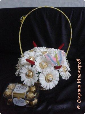 корзины вкусных цветов фото 6