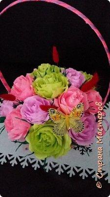 корзины вкусных цветов фото 8