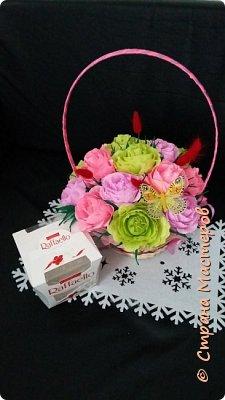 корзины вкусных цветов фото 7