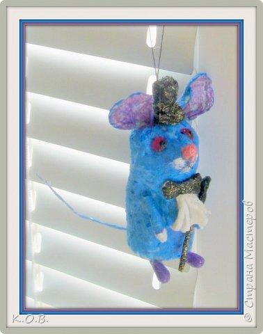ватный  Мышь-джентельмен фото 1