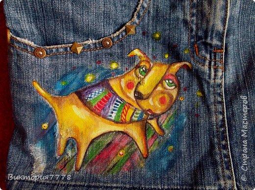 Привет, Страна! Покажу, как старая джинсовая юбочка дочери получила вторую жизнь. фото 2