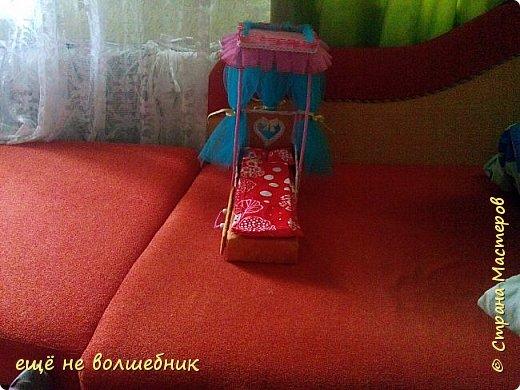 Кровать для Барби  , первая. фото 1