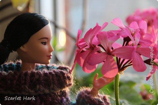 Связался теплый и уютный свитер для Неко. фото 1