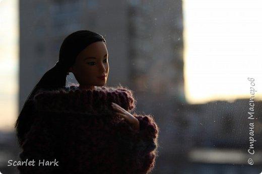 Связался теплый и уютный свитер для Неко. фото 5