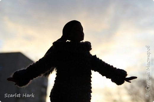 Связался теплый и уютный свитер для Неко. фото 6