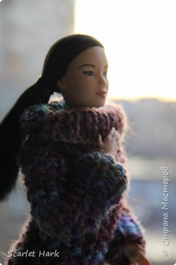 Связался теплый и уютный свитер для Неко. фото 3