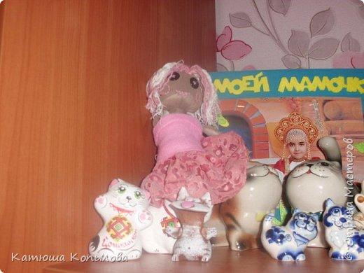 Я сшила куколку Пусю. фото 2