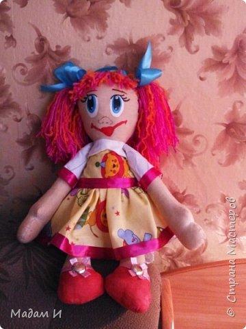 Всем доброго время суток!!! Вот решила сшить куклу!!! Эта первая моя кукла , так что не судите строго.... Куклу звать Дашенька!!! Вот такая заготовочка, конечно не ахти... фото 4