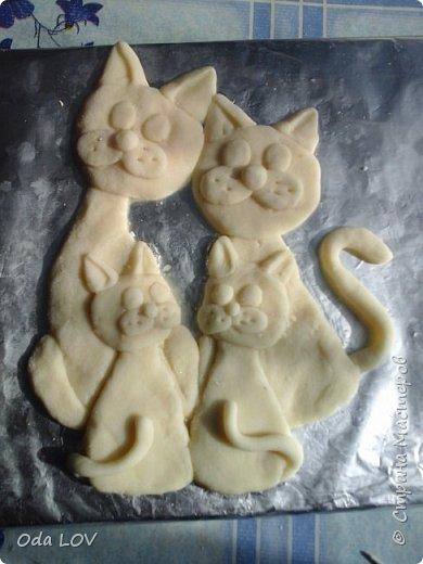 Вот такие у меня получились котики фото 2