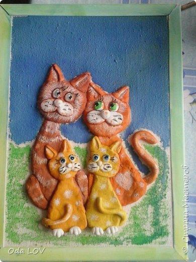 Вот такие у меня получились котики фото 4