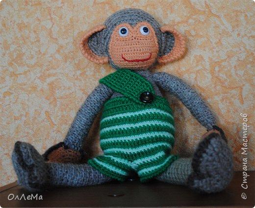Мягкая теплая обезьянка.  фото 1