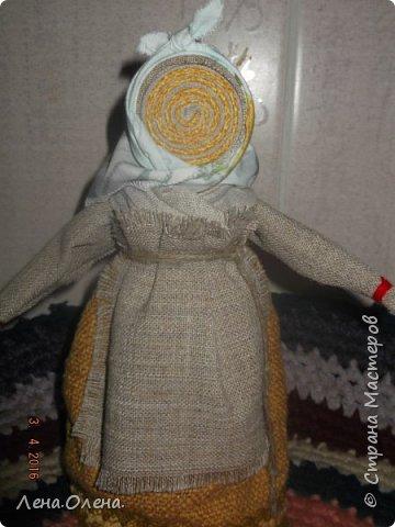 Увидела  в интернете куклу-спираль, очень понравилась. И вот что получилось у меня. фото 2