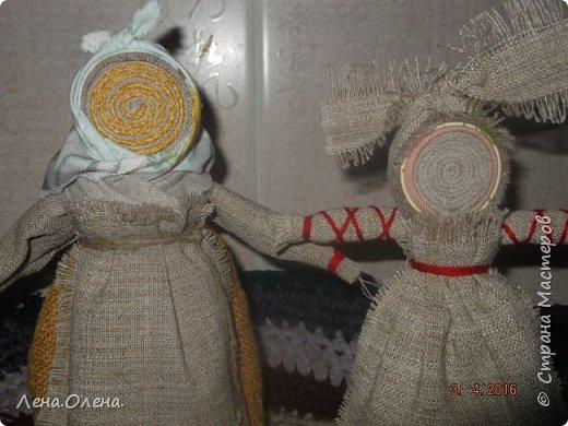 Увидела  в интернете куклу-спираль, очень понравилась. И вот что получилось у меня. фото 4