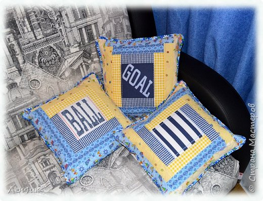"""Лоскутные подушечки в стиле """"колодец"""" шились под мотивчик - Учкудук. Три колодца - три разных способа составления блоков. фото 1"""