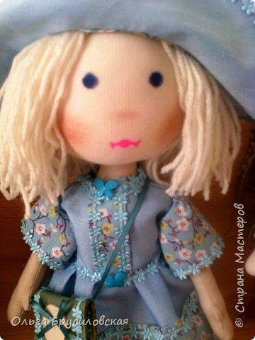 Привет всем в СМ! Мое увлечение шитьем кукол продолжается. Не все получается, изъянов много, кукляшки пока простенькие, с простыми мордочками...   Но люблю их всех очень-очень! Куклы как дети; их просто любишь и все - они ведь твои родные... фото 4