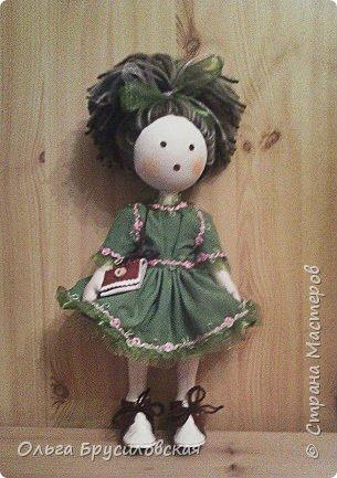 Привет всем в СМ! Мое увлечение шитьем кукол продолжается. Не все получается, изъянов много, кукляшки пока простенькие, с простыми мордочками...   Но люблю их всех очень-очень! Куклы как дети; их просто любишь и все - они ведь твои родные... фото 5