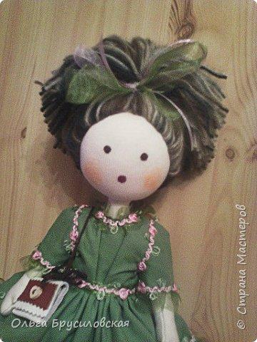 Привет всем в СМ! Мое увлечение шитьем кукол продолжается. Не все получается, изъянов много, кукляшки пока простенькие, с простыми мордочками...   Но люблю их всех очень-очень! Куклы как дети; их просто любишь и все - они ведь твои родные... фото 6