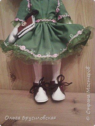 Привет всем в СМ! Мое увлечение шитьем кукол продолжается. Не все получается, изъянов много, кукляшки пока простенькие, с простыми мордочками...   Но люблю их всех очень-очень! Куклы как дети; их просто любишь и все - они ведь твои родные... фото 7