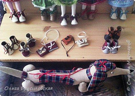 Привет всем в СМ! Мое увлечение шитьем кукол продолжается. Не все получается, изъянов много, кукляшки пока простенькие, с простыми мордочками...   Но люблю их всех очень-очень! Куклы как дети; их просто любишь и все - они ведь твои родные... фото 9