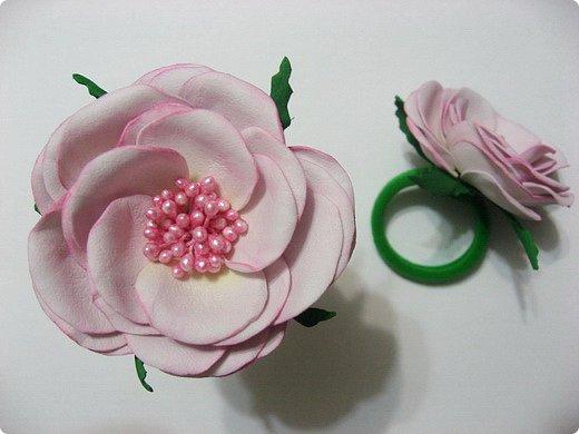 """Добрый день всем гостям и жителям Страны Мастеров!  Вот такое розовое """"облако"""" получилось у меня.... фото 3"""