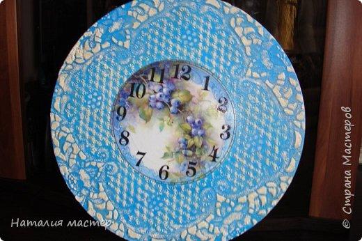 Решила сделать очередные часы,переделывала их раза четыре,это окончательный вариант. фото 3