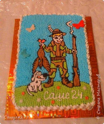Привет всем!!! Вот показываю вам свои тортики, сделанные за март месяц. На главный праздник  конечно же заказывали тортик для мамы вот с таким детенышем!!!  Красавчик, мне самой очень понравился. фото 19