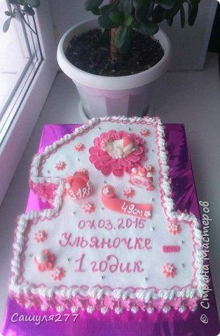 Привет всем!!! Вот показываю вам свои тортики, сделанные за март месяц. На главный праздник  конечно же заказывали тортик для мамы вот с таким детенышем!!!  Красавчик, мне самой очень понравился. фото 14
