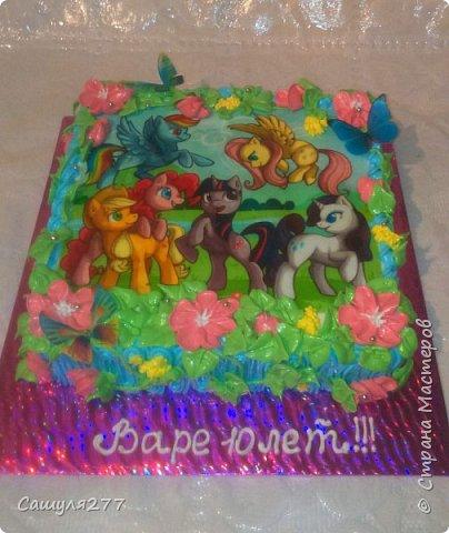 Привет всем!!! Вот показываю вам свои тортики, сделанные за март месяц. На главный праздник  конечно же заказывали тортик для мамы вот с таким детенышем!!!  Красавчик, мне самой очень понравился. фото 23