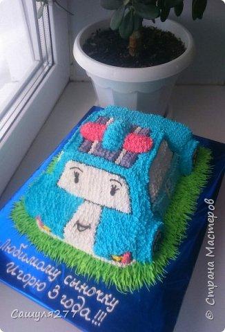 Привет всем!!! Вот показываю вам свои тортики, сделанные за март месяц. На главный праздник  конечно же заказывали тортик для мамы вот с таким детенышем!!!  Красавчик, мне самой очень понравился. фото 27
