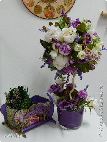цветочная композиция на лисапете фото 4