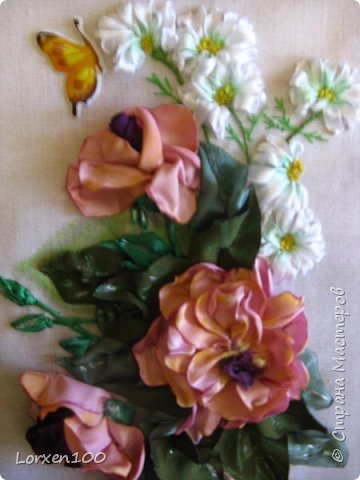 Всем хорошего настроения и доброго здоровья!!Здравствуйте,мои дорогие!!!Захотелось мне цветов,много цветов,разной формы и цвета,вот и вышился такой букетик из веточки розы садовой и ромашек- такое простой летом и недостижимый ранней весной.Но,все в наших силах,дождемся и живых! фото 5