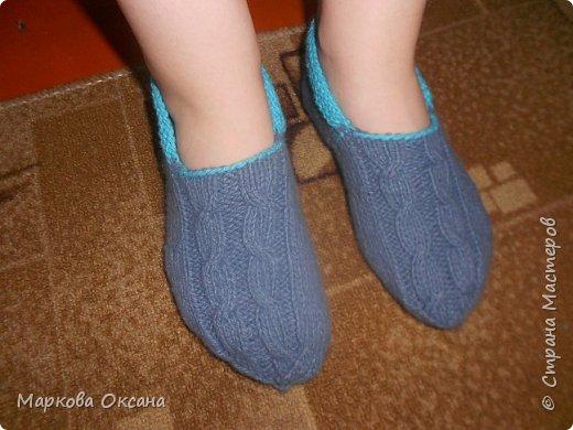 Добрый день ! Навязала своим родственникам следков и носочков , смотрите ! фото 3