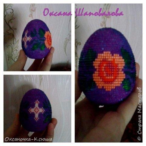 Очередное яйцо-сувенир скоро найдет новую хозяйку)))