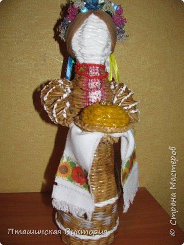 """Доброго времени суток, дорогие мастерицы!! Мы с моей ученицей сделали  вот такую куклу на конкурс """"Люби и знай свой край"""". Высота куклы 48 см. Подобную работу  увидела у Майя0305  http://stranamasterov.ru/node/1001773?c=favorite. фото 1"""