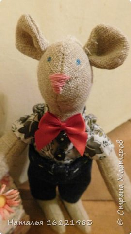 Мальчик-мышь для мышки, которая пока живет здесь http://stranamasterov.ru/node/1017706 фото 2