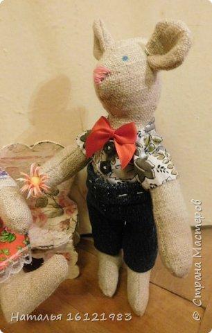 Мальчик-мышь для мышки, которая пока живет здесь http://stranamasterov.ru/node/1017706 фото 4