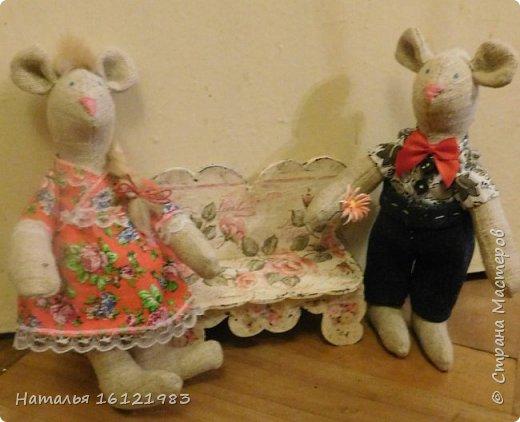 Мальчик-мышь для мышки, которая пока живет здесь http://stranamasterov.ru/node/1017706 фото 5