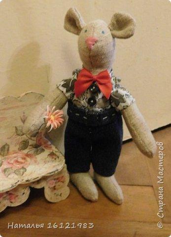 Мальчик-мышь для мышки, которая пока живет здесь http://stranamasterov.ru/node/1017706 фото 1
