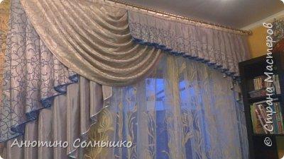 Два ламбрекена на заказ в зеркальном отображении. фото 2