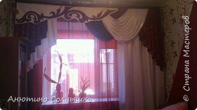 Ламбрекен на заказ и подушка роза в подарок!!! фото 1
