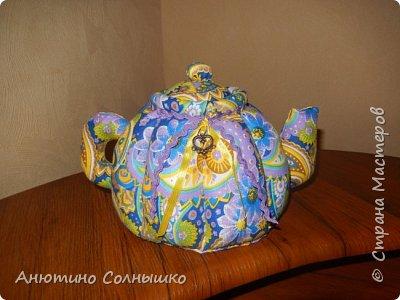 Текстильный чайник на подарок!!! фото 1