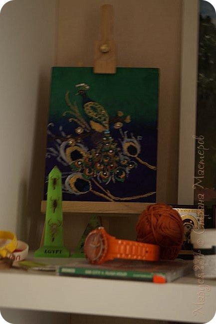 """Всем привет! Наконец-то я проснулась от зимней спячки. Сегодня я сдаю работу (И не одну!) на конкурс """"В мире птиц"""" Это работа №1 Птичка зимой кушает ягодки. Рисовала на уроке истории ))) фото 3"""