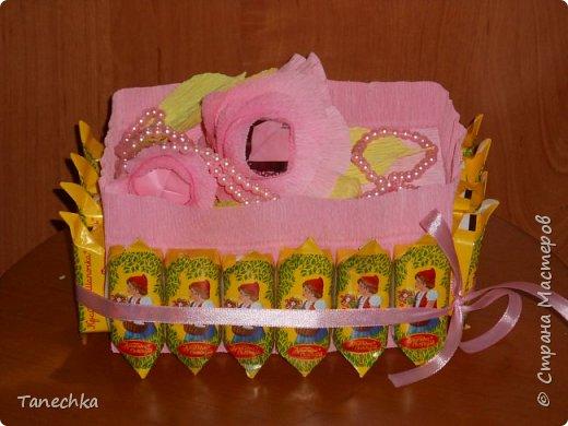 Оформление коробки с зефиром для учителя сына. фото 2
