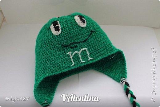 шапочка m&m- ка фото 2