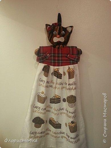 В оригинале, в платье- полотенце, одета куколка. Идея и выкройка взята из интернета.  фото 1