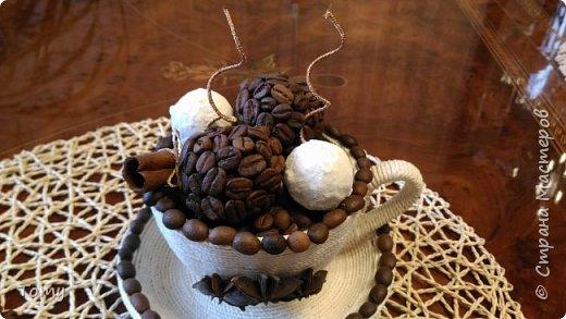 Чашка кофе с мороженым фото 2